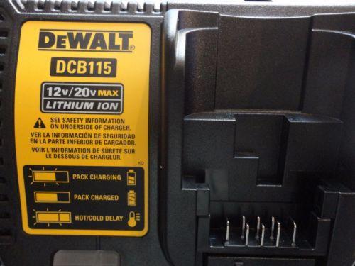 Pạc pin Dewalt DCB115 Dual-Charger 4