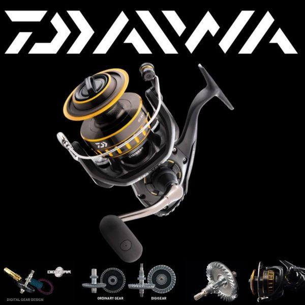 Máy câu cá Daiwa bg 3000