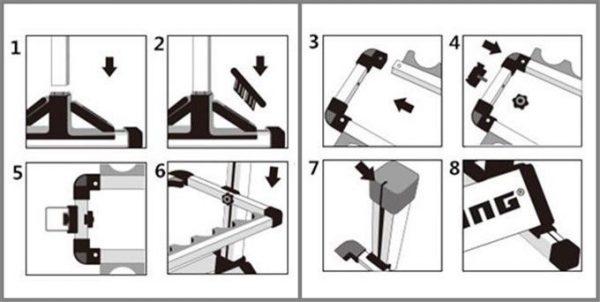 Kệ để cần câu KastKing -12 Rod Rack 15
