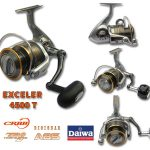 Máy câu cá Daiwa Exceler Spinning Reel 4500T 6