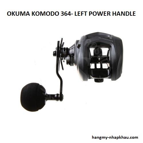 Máy câu cá Okuma komodo 364 PLX lh 1