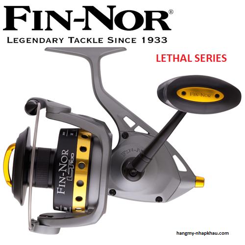 Fin-Nor Lethal Spinning Salt Water Reel 4.9:1 LT60