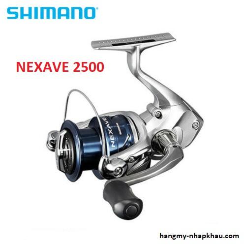 Máy câu cá Shimano 18NEXAVE 2500