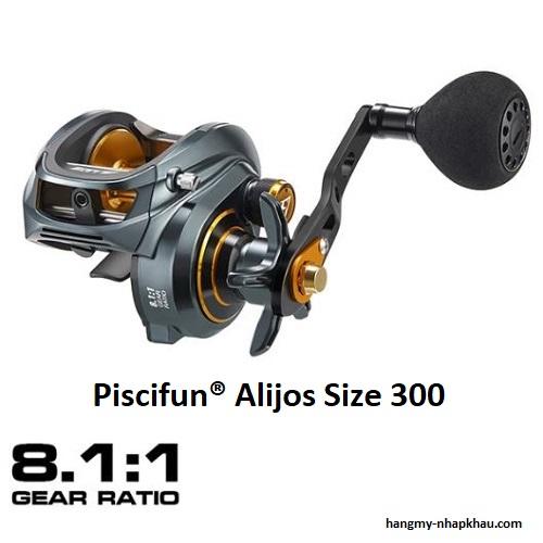 Máy câu cá Piscifun Alijos 300 power handle LH