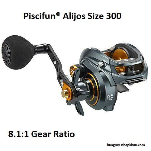 Máy câu cá Piscifun Alijos 300 power handle