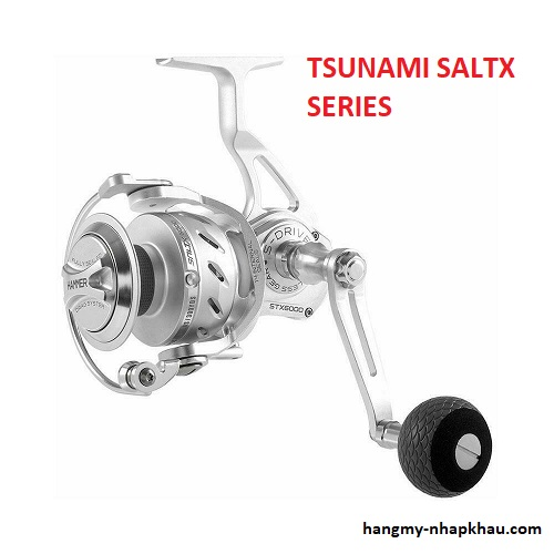 Máy câu cá Tsunami Salt X series