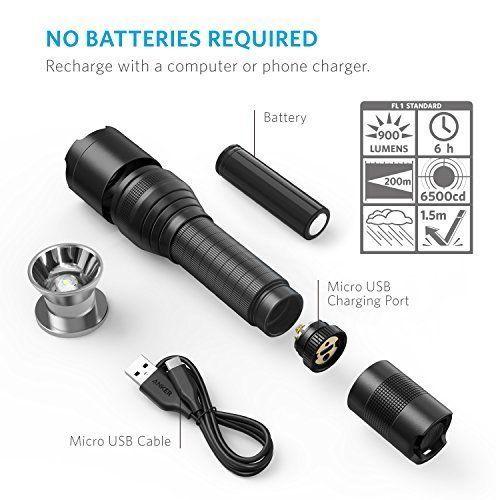 Anker Bolder LC90 LED Flashlight 2
