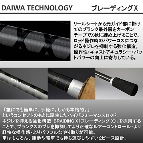 Daiwa Bass X spec 2