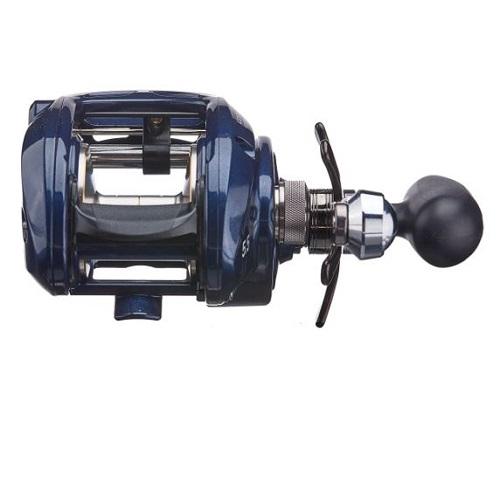Máy câu cá Daiwa Lexa CC400 power handle 1 RH 2