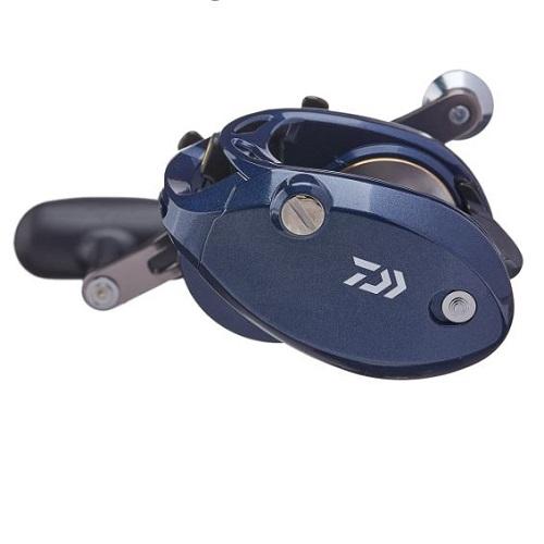 Máy câu cá Daiwa Lexa CC400 power handle 1 RH 3