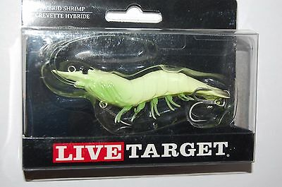 Mồi câu giả Livetarget Hybrid Shrimp hình con tôm 3