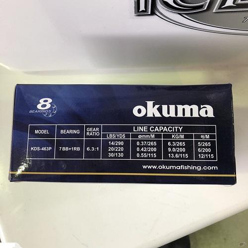 Máy câu cá Okuma Komodo KDS-463P 3