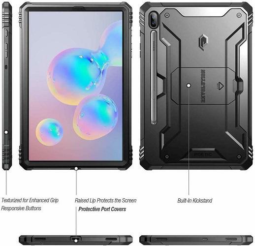 Ốp lưng Galaxy Tab S6 Tablet Case Poetic 1