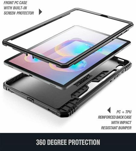 Ốp lưng Galaxy Tab S6 Tablet Case Poetic 2