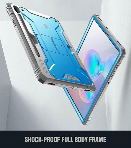 Ốp lưng Galaxy Tab S6 Tablet Case Poetic Xanh 6